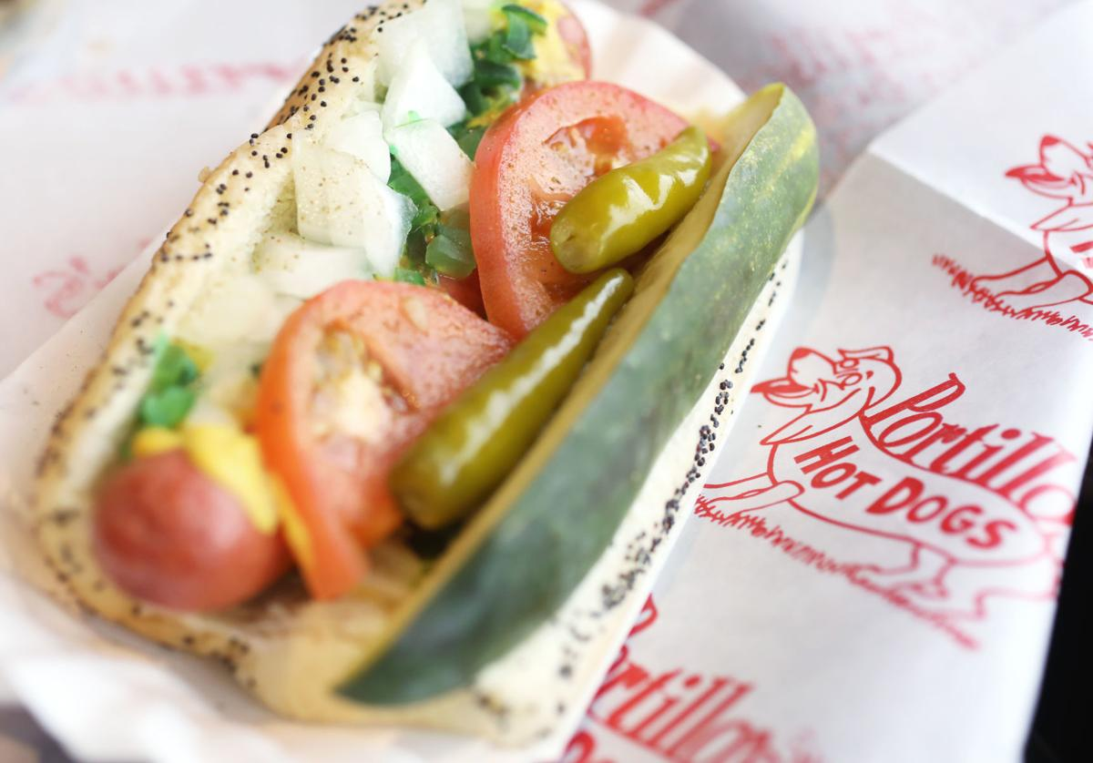 Portillo's hot dog