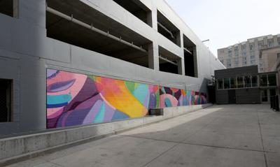 Mural as seen from Doty Street