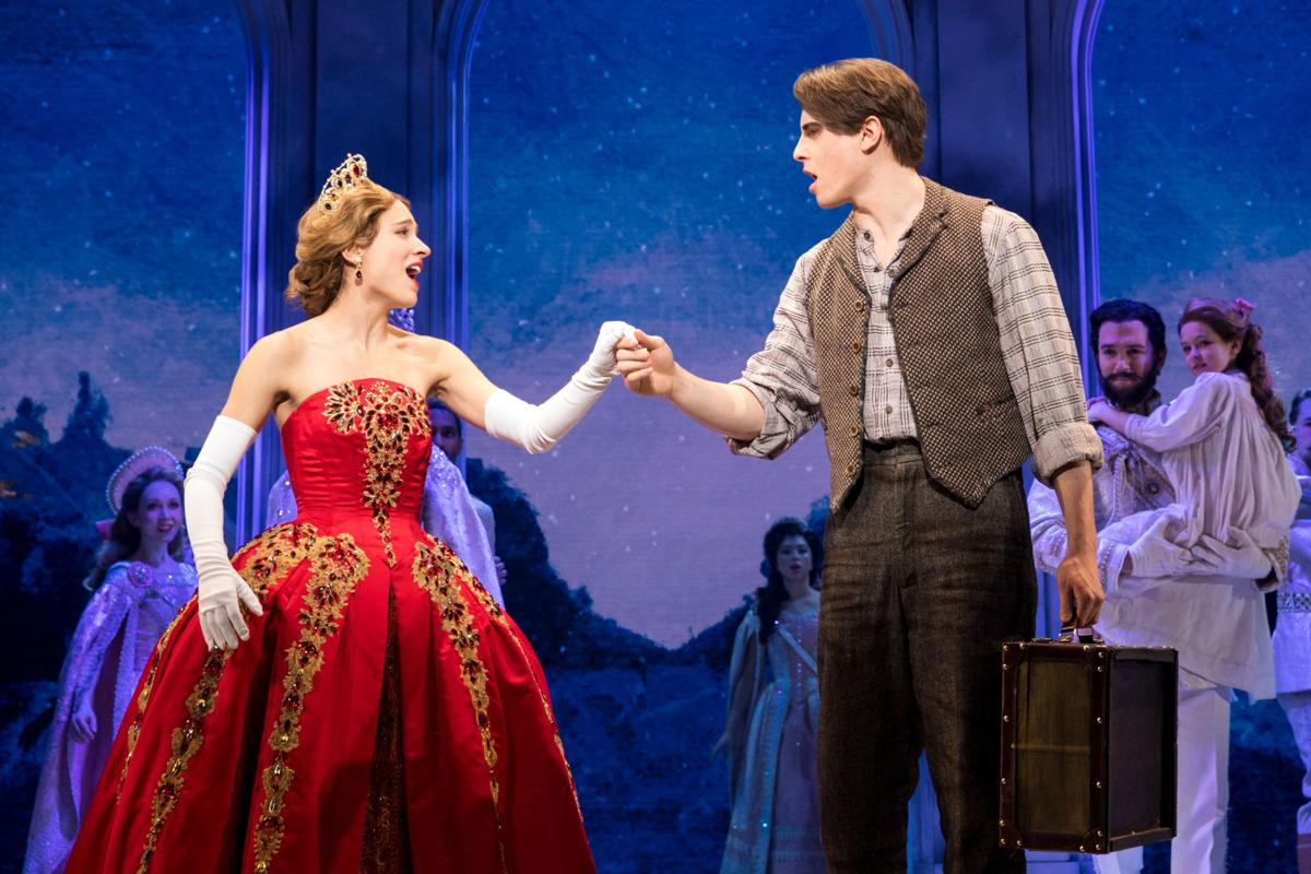 Christy Altomare, Derek Klena from the original Broadway Cast of ANASTASIA