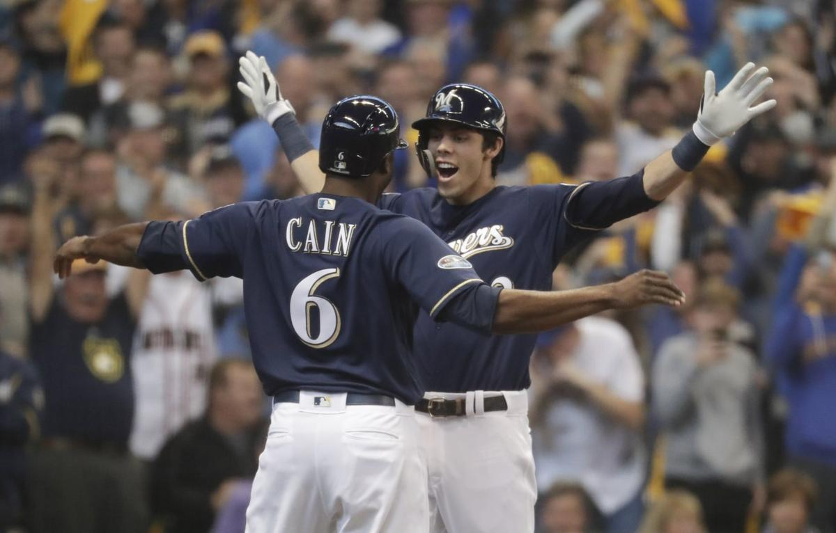 In first year with team, Christian Yelich drives Brewers to