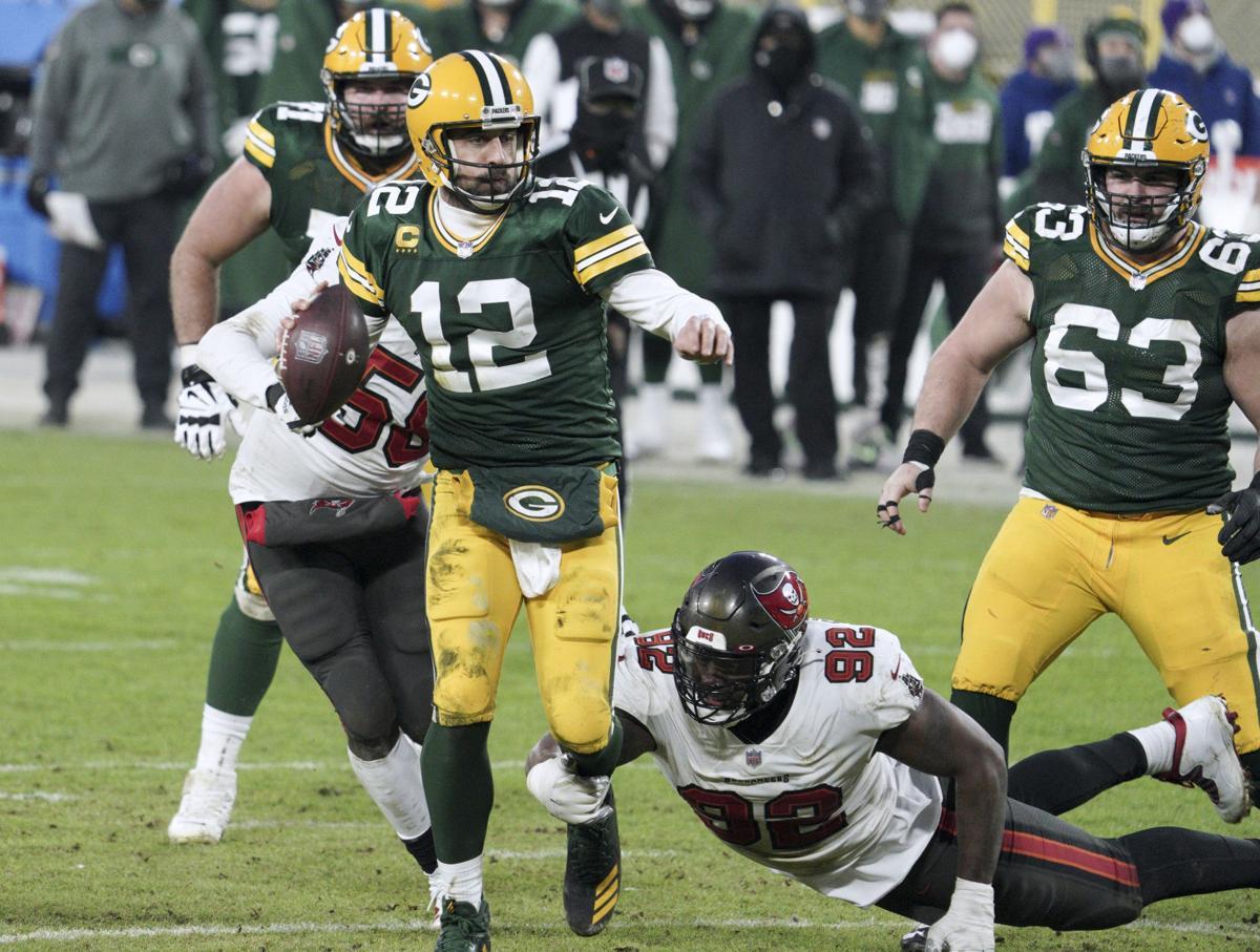 Aaron Rodgers - Packers vs. Buccaneers