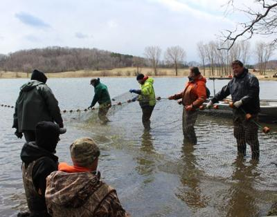 DNR fisheries crew