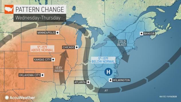 Warming trend mid-week by AccuWeather