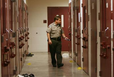 Deputy in Dane County Jail, State Journal generic file photo