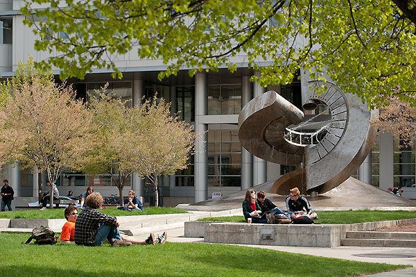 UW-Madison engineering fountain