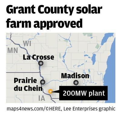Grant County solar map