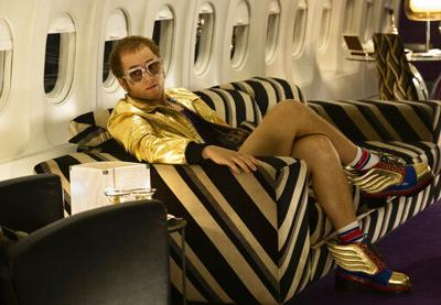 Review: Egerton glitters in glossy, conventional 'Rocketman'