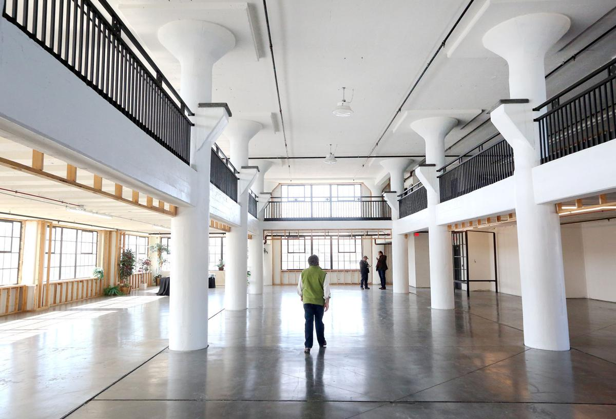 Creamery Package Manufacturing Co. building coming to life in Fort Atkinson