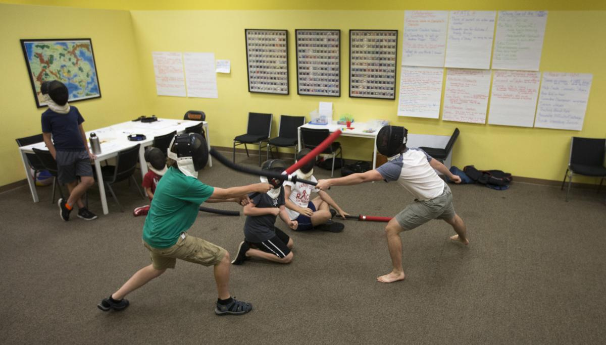 Goblins, Orcs and Swords summer camp
