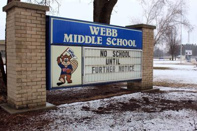 Webb Middle School Sign