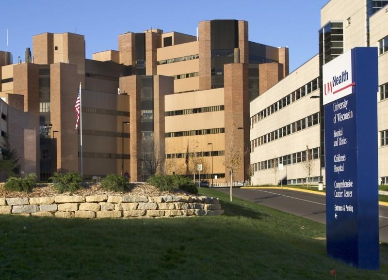 UW HOSPITAL CLINIC HEALTH BUILDING EXTERIOR