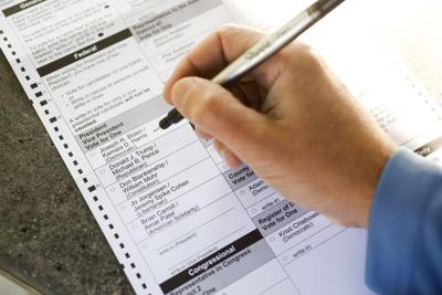 Presidential Election Absentee Ballot
