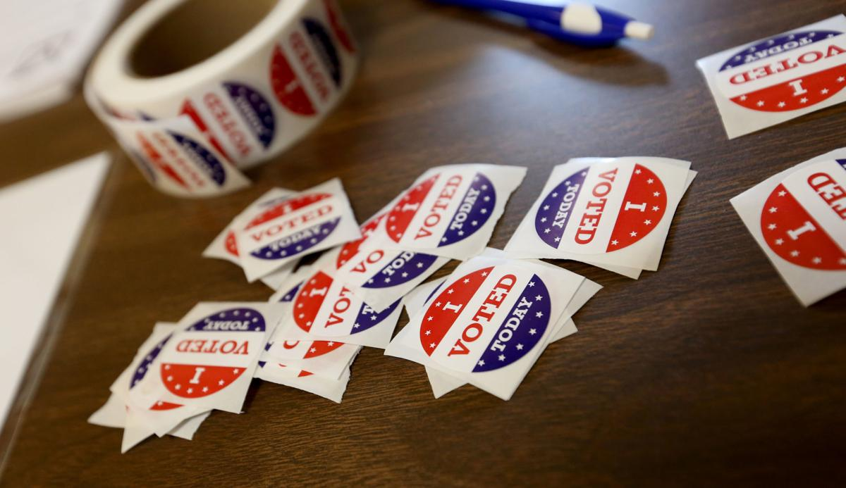 Vote stickers for web turnout story