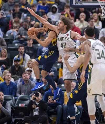 Bucks clamp down on defense to defeat short-handed Pacers