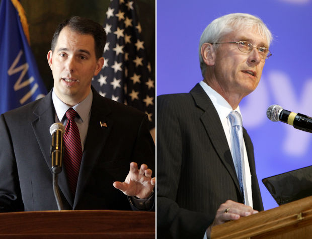 Scott Walker Tony Evers mashup