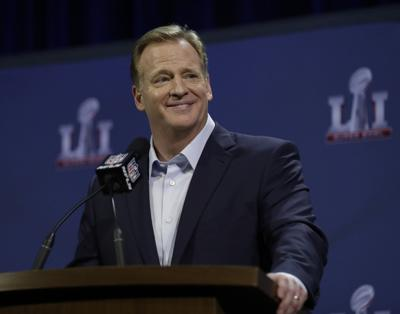 Roger Goodell state of league, AP photo