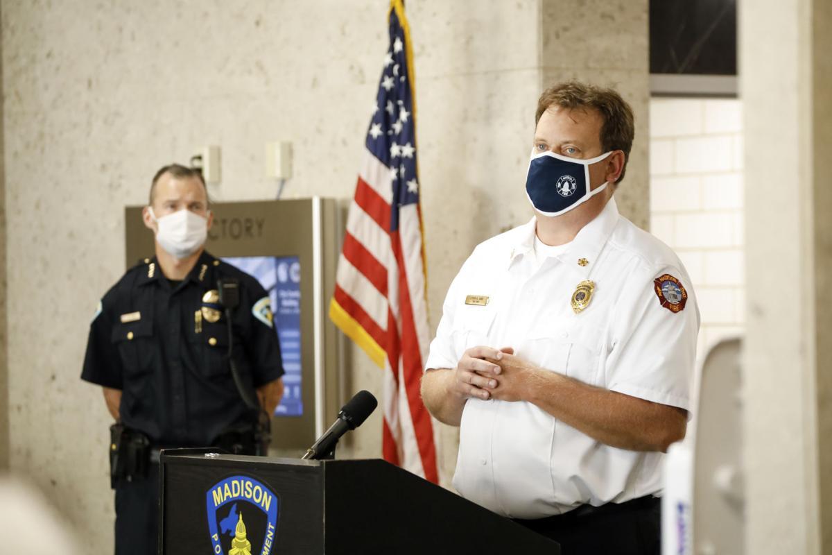 Fire Department Chief Steven Davis