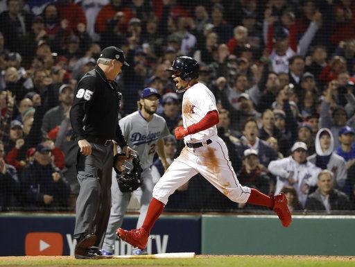 The Latest: Matt Kemp homers, cuts Boston lead to 2-1