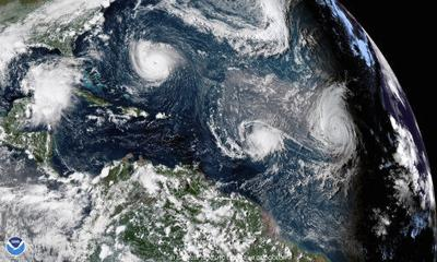 Hurricanes stay stronger longer after landfall than in past (copy)