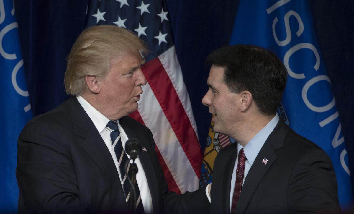 Donald Trump visits Wisconsin