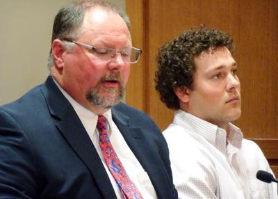 Jacob Johnson in court
