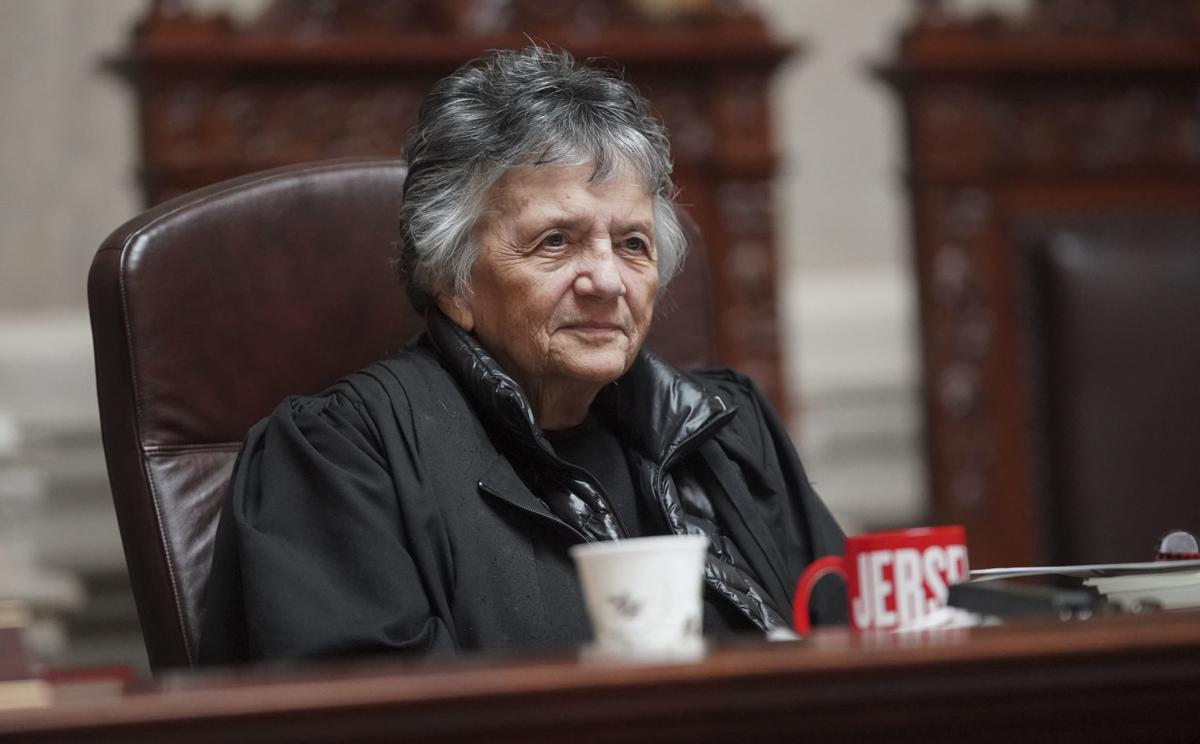 Retiring Justice Shirley Abrahamson makes her final appearance