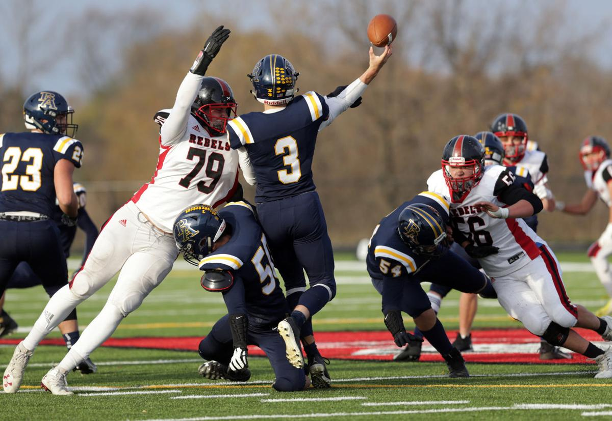 Barrett Nelson, Badgers recruit playing for Fall River, Cap Newspapers photo