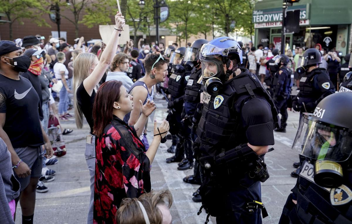 Protest-policing