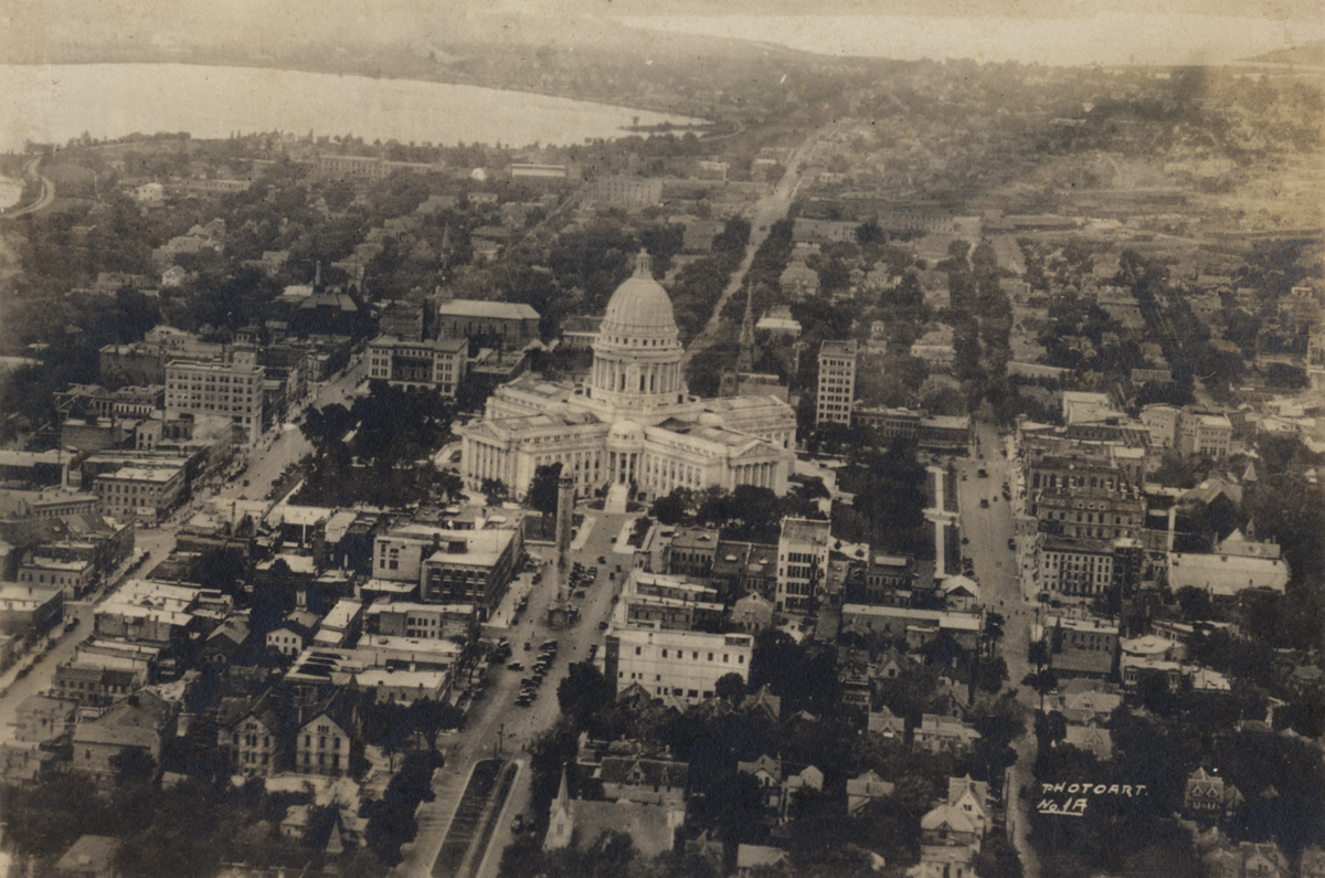 Madison in 1919