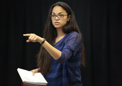 Karen Olivo as a director at UW-Madison (copy)