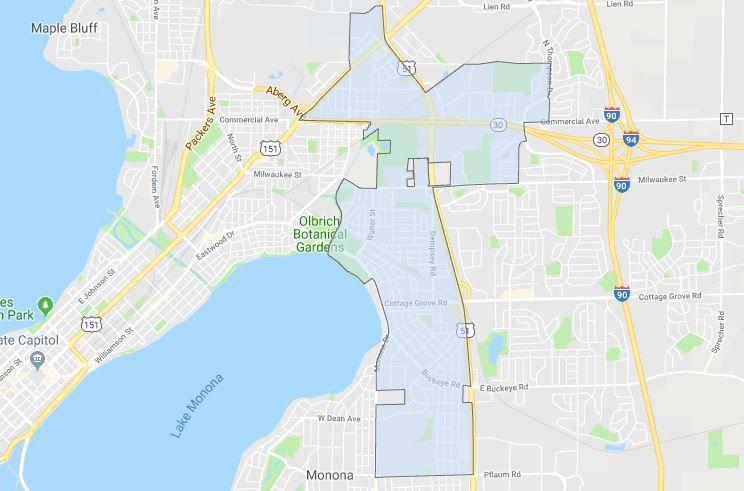 District 15 boundaries