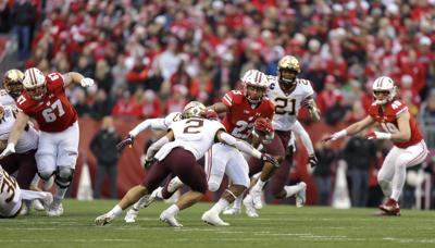 Running rampant: Poised for history, Badgers RB Jonathan Taylor enters junior year focused on improving