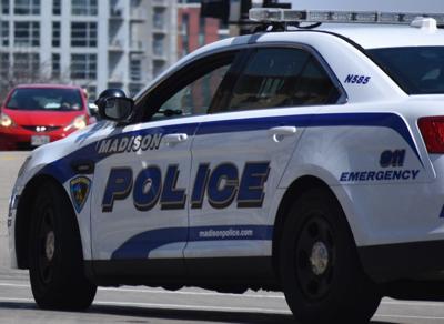 Madison police squad car