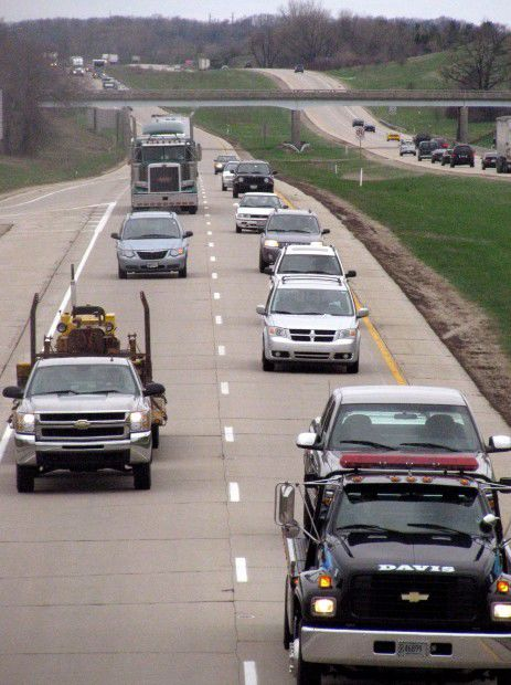 Traffic, I-39-90 project Madison to Illinois state line, State Journal photo