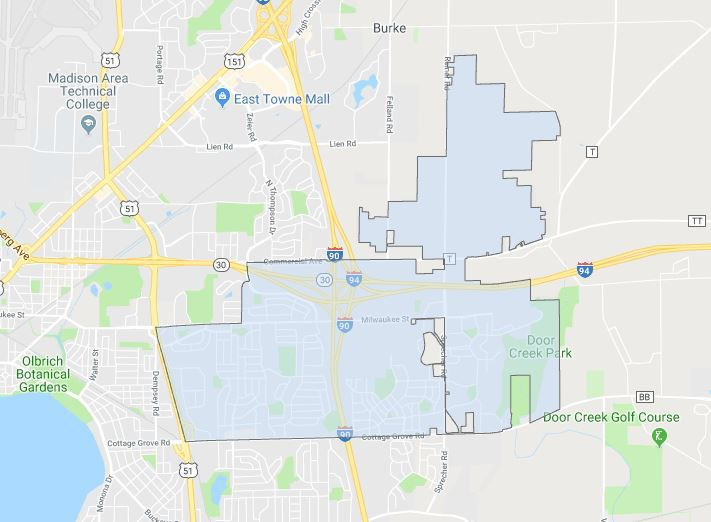 City of Madison District 3 boundary