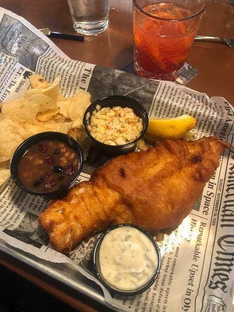 haddock fish fry at Northfork Fin & Filet