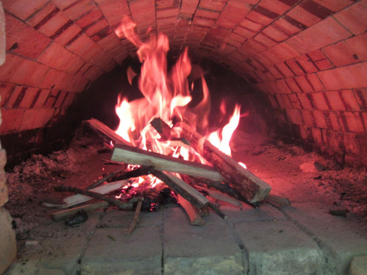 Tower Hill State park brick oven
