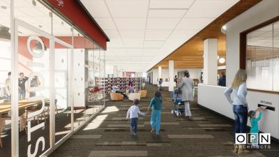 Awe Inspiring Temporary Home For Pinney Library Identified While New Download Free Architecture Designs Scobabritishbridgeorg