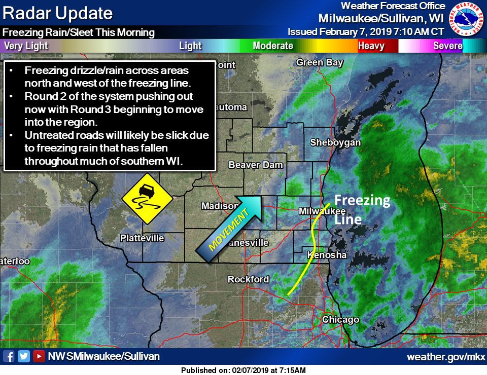 Ice Storm Update: If You Don't Have To Drive, Stay Put