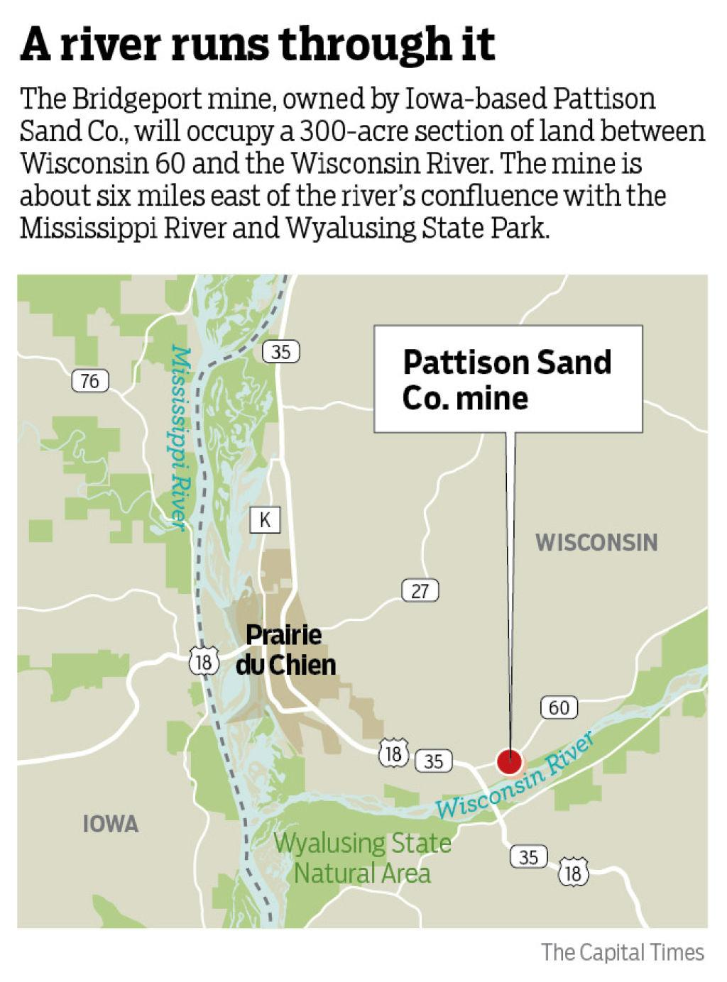 A mine with a view: Loophole opens the door for frac sand ...