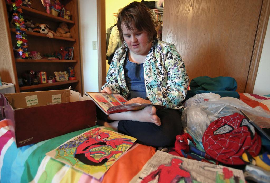 Hannah reading