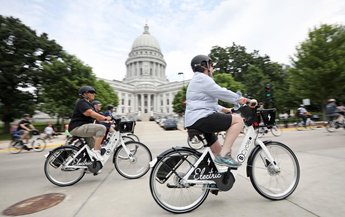Madison BCycle's electric bikes