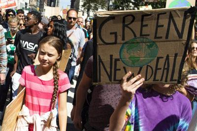 Q&A: Climate activist Greta Thunberg on global strikes (copy) (copy)