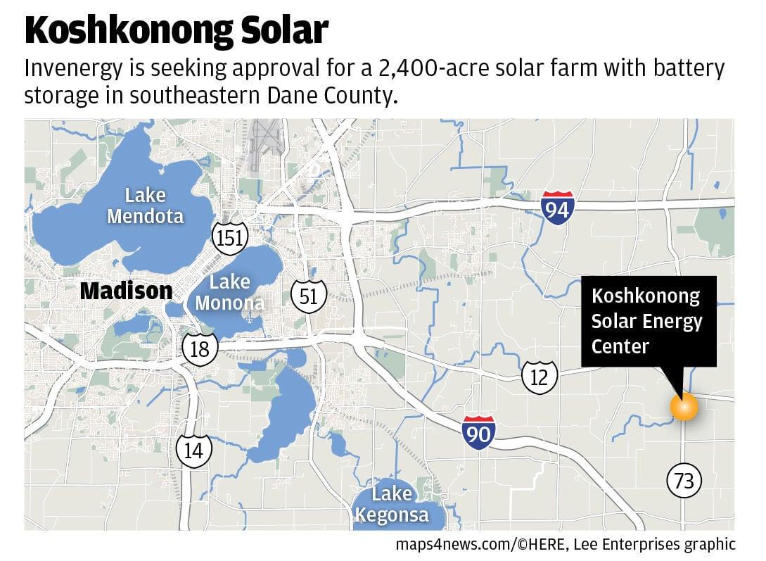 Koshkonong Solar map