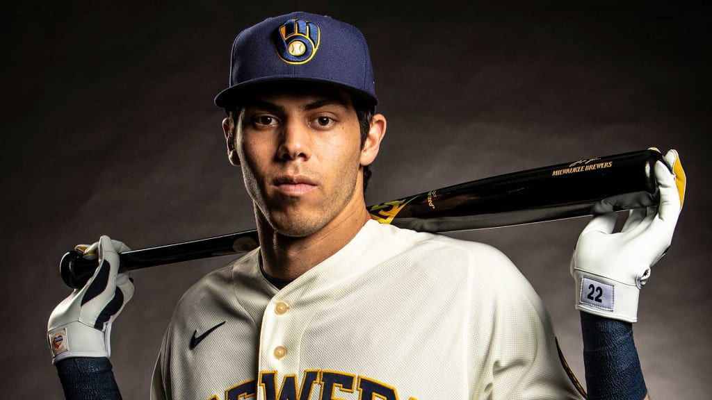 Christian Yelich - New Brewers uniform