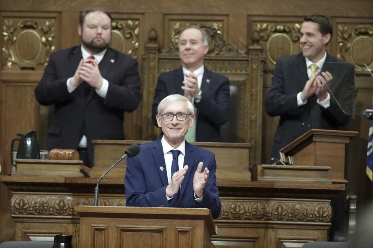 Leaders applaud a tax cut