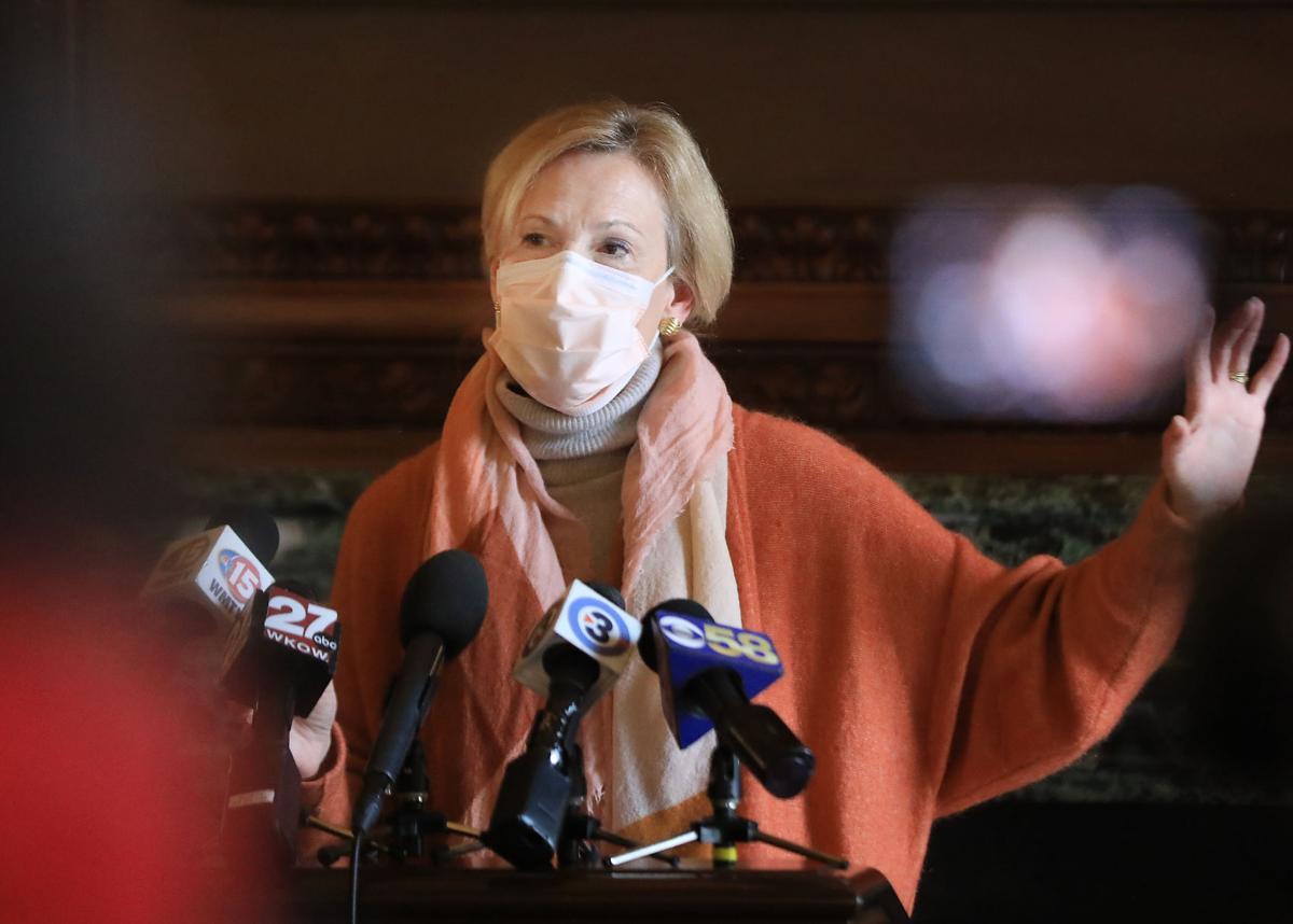 Deborah Birx in Madison