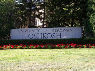 UW Oshkosh sign