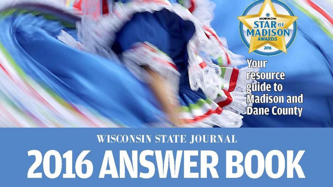 2016 Answer Book Local News Madison