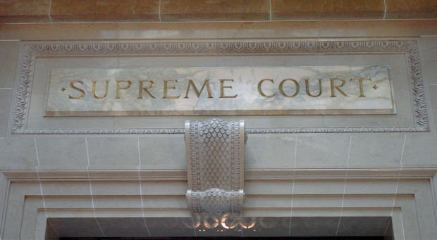 Wisconsin Supreme Court chamber entrance